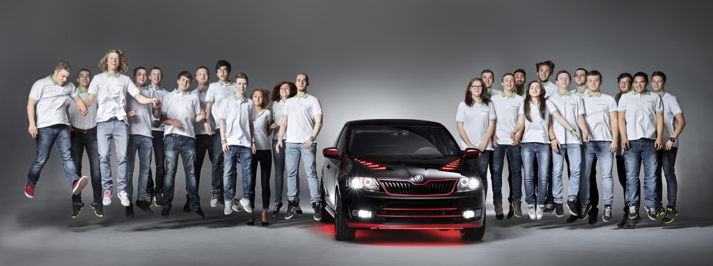 SKODA Atero - SKODA vocational students built their dream coupe (3)