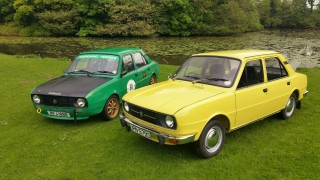 Two of the earliest Estelle models in the UK